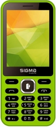 Sigma mobile X-style 31 Power Dual Sim Green