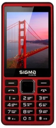 Sigma mobile X-style 36 Point Dual Sim Red