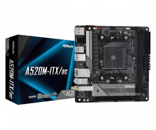 ASRock A520M-ITX/AC Socket AM4