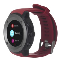 Фитнес устройства ERGO Sport GPS HR Watch S010 - Спортивные часы (Red)
