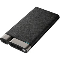 внеш. аккум. PURIDEA X01 10000mAh Li-Pol +TYPE-C Leather Черный