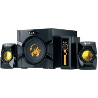 Комп.акустика GENIUS SW-G2.1 3000 black/orange
