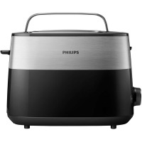 Тостер PHILIPS HD2516/90 Чорний+метал