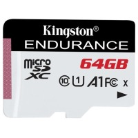 карта памяти KINGSTON microSDHC 64Gb Endurance (95R/30W) C10 A1