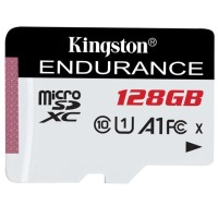 карта памяти KINGSTON microSDHC 128Gb Endurance (95R/45W) C10 A1