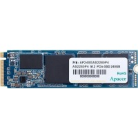 SSD внутренние APACER AS2280P4 240GB PCIe 3.0x4 M.2 (AP240GAS2280P4-1)