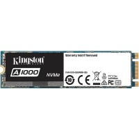 SSD внутренние KINGSTON A1000 480GB PCIe 3.0 x2 M.2 TLC (SA1000M8/480G)