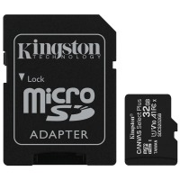 карта памяти KINGSTON microSDHC 32Gb Canvas Select+ A1 (R100/W10) +ad