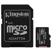 карта памяти KINGSTON microSDXC 128Gb Canvas Select+ A1 (R100/W85) +ad