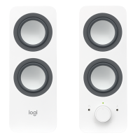 Комп.акустика LOGITECH Multimedia Speakers Z200 (белый)