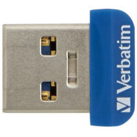 флеш-драйв VERBATIM Store 'n' Stay Nano 32GB USB 3.0 Blue