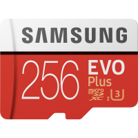карта памяти SAMSUNG EVO Plus microSDXC 256GB UHS-I (MB-MC256HA/RU)