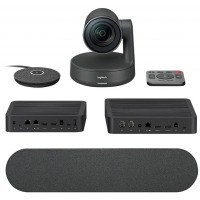 Комп.камера LOGITECH Rally Ultra-HD ConferenceCam, BLACK, DUAL SPEAKER