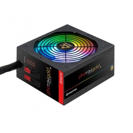 Блок питания Chieftec GDP-750C-RGB, ATX 2.3, APFC, 14cm fan, КПД >90%
